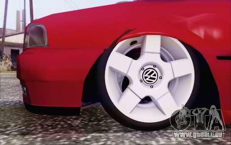 Volkswagen Parati SPS Club pour GTA San Andreas sur la vue arrière gauche