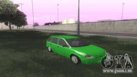 Chevrolet Corsa Wagon pour GTA San Andreas vue arrière