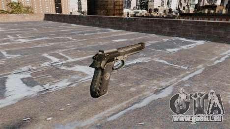 -Selbstlade-Pistole Beretta 92FS für GTA 4 Sekunden Bildschirm