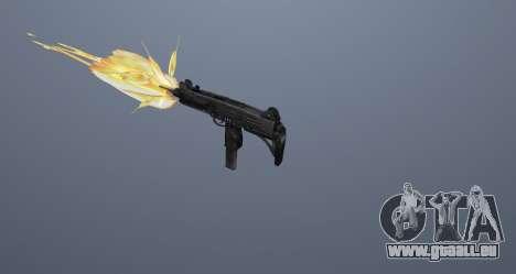 Die Maschinenpistole UZI für GTA San Andreas elften Screenshot