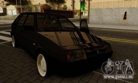 VAZ 2109 für GTA San Andreas obere Ansicht