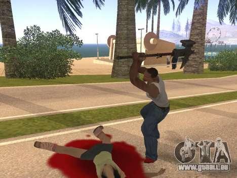 Baton Marker für GTA San Andreas her Screenshot