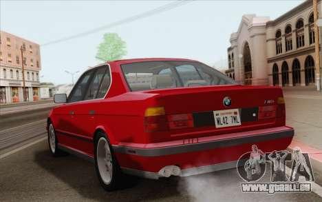 BMW M5 E34 1991 NA-spec für GTA San Andreas rechten Ansicht