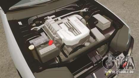 Nissan Skyline ER34 Police pour GTA 4 est une vue de l'intérieur