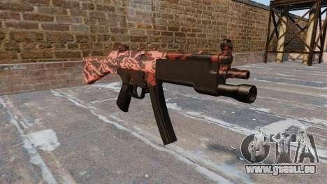 Le pistolet mitrailleur HK MP5 pour GTA 4