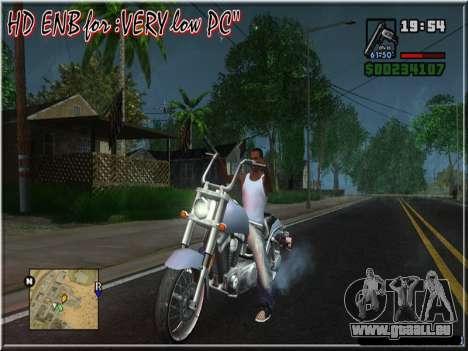 HD ENB for very low PC pour GTA San Andreas cinquième écran