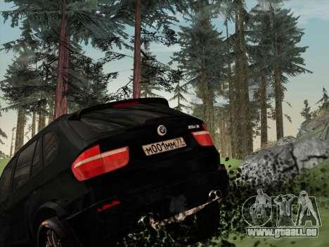 BMW X5M E70 2010 für GTA San Andreas Unteransicht