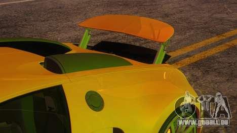 Bugatti Veyron 2009 pour GTA San Andreas vue de côté