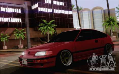 Honda CRX Low Gang für GTA San Andreas