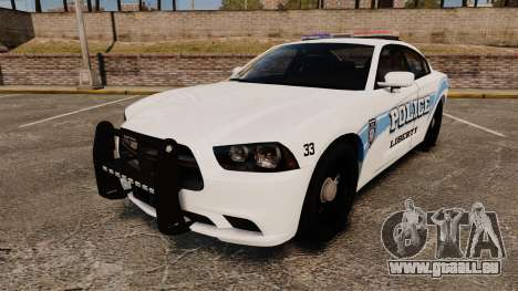 Dodge Charger 2013 Liberty Police [ELS] pour GTA 4