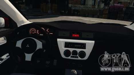 Mitsubishi Lancer Evolution IX pour GTA 4 est un droit