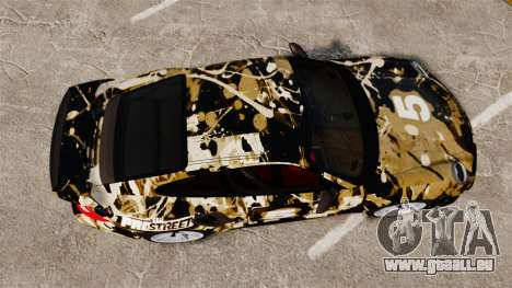 Porsche 911 GT2 RS 2012 BLOB pour GTA 4 est un droit
