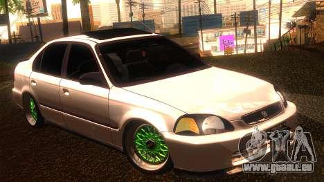 Honda Civic JDM für GTA San Andreas
