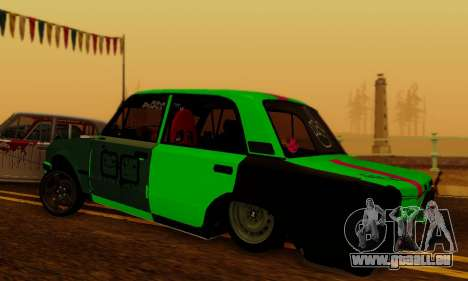 BMWAZ für GTA San Andreas linke Ansicht