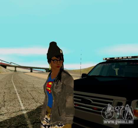 Girl Swagg für GTA San Andreas dritten Screenshot