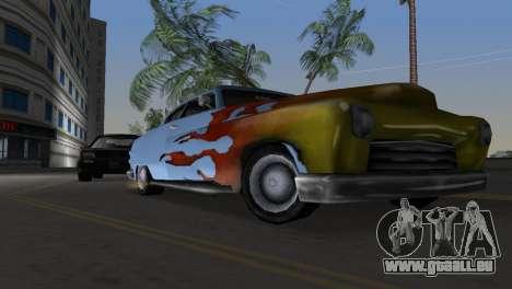 Hermes GTA VCS pour GTA Vice City vue arrière