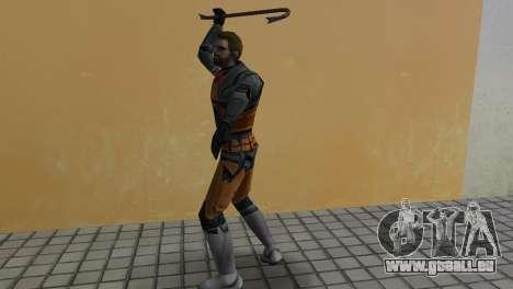 Gordon Freeman für GTA Vice City Screenshot her