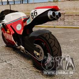 GTA IV TBoGT Pegassi Bati 800 pour GTA 4 est un droit