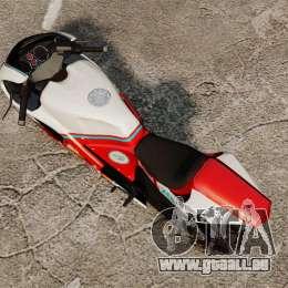 GTA IV TBoGT Pegassi Bati 800 pour GTA 4 Vue arrière de la gauche