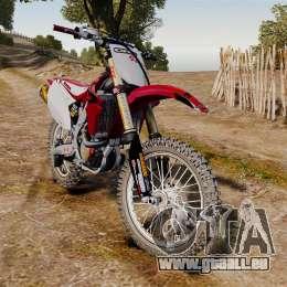 Kawasaki KX250F (Honda CRF450) für GTA 4