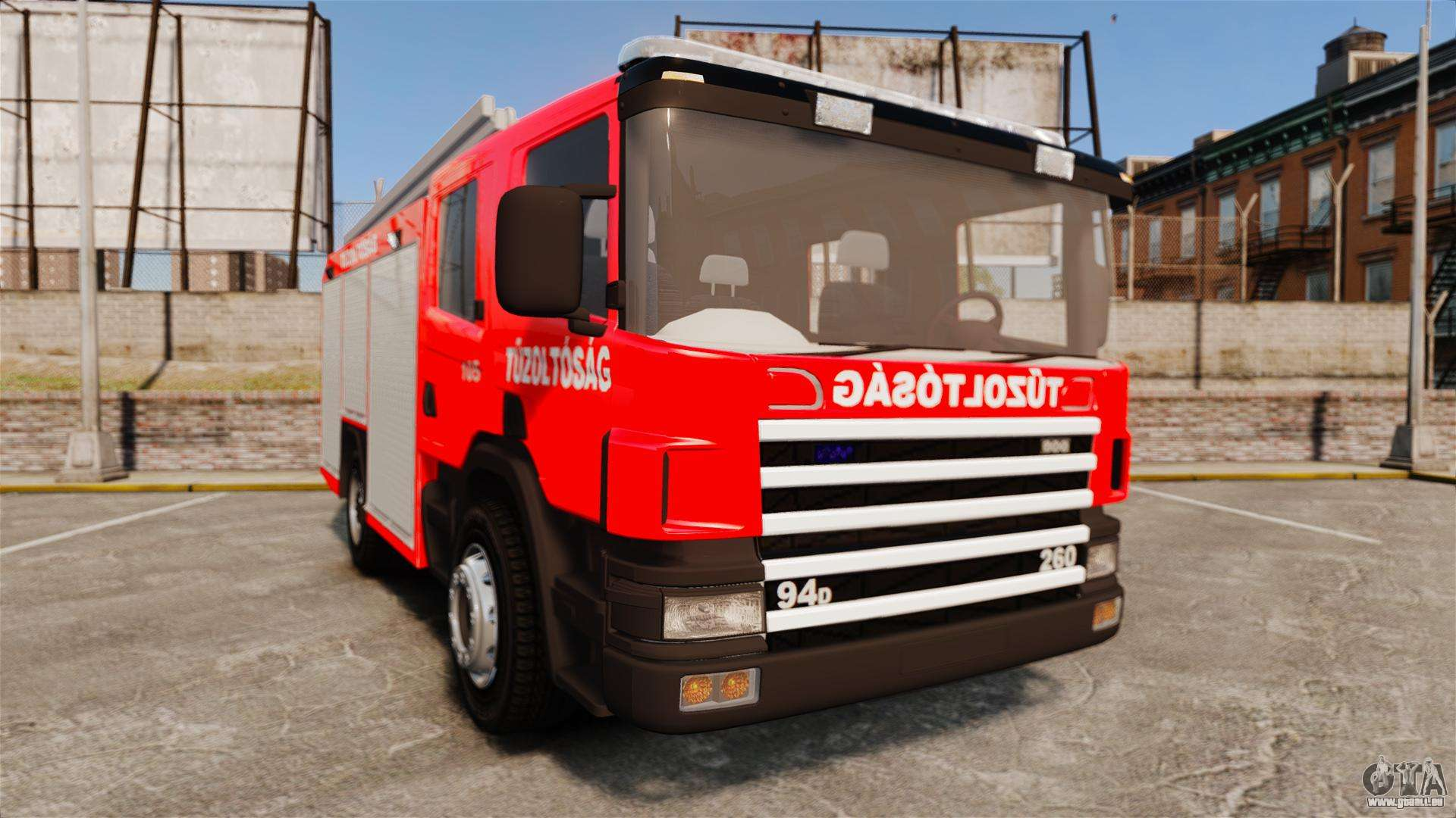 Hongrois camion de pompiers els pour gta 4 - Camion pompier cars ...