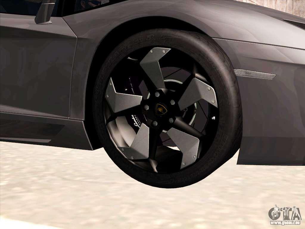 Lamborghini aventador lp700 4 2013 f r gta san andreas for Auto innen dekorieren