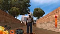 C-HUD Fire für GTA San Andreas