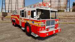 Ferrara 100 Aerial Ladder FDNY [working ladder]