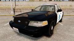 Ford Crown Victoria San Francisco Police [ELS] pour GTA 4