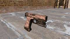 Pistolet Glock 20 Rouge Tigre