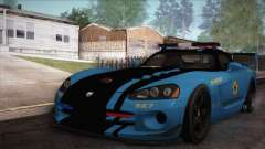 Dodge Viper SRT 10 ACR Police Car für GTA San Andreas