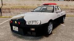 Nissan Skyline ER34 Police für GTA 4