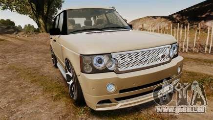 Range Rover Supercharger 2008 pour GTA 4
