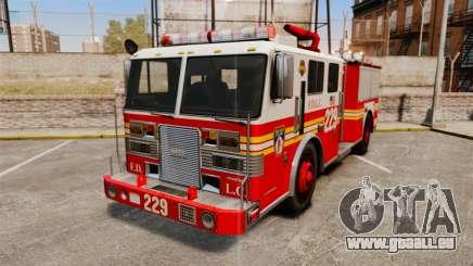 Fire Truck v1.4A FDLC [ELS] pour GTA 4
