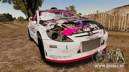 Peugeot 307 WRC The Idolmaster Cinderella Girls pour GTA 4