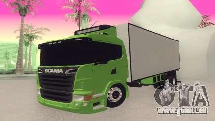 Scania 310 Bau pour GTA San Andreas