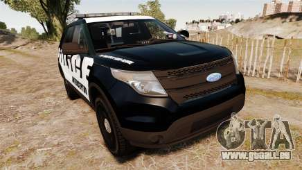 Ford Explorer 2013 Police Interceptor [ELS] für GTA 4
