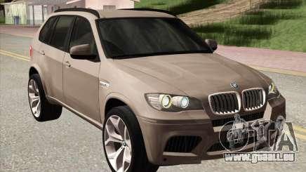 BMW X5M E70 2010 pour GTA San Andreas