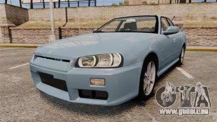 Nissan Skyline ER34 GT25 pour GTA 4