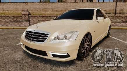 Mercedes-Benz S65 (W221) AMG pour GTA 4