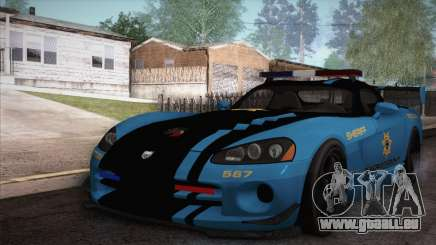 Dodge Viper SRT 10 ACR Police Car pour GTA San Andreas