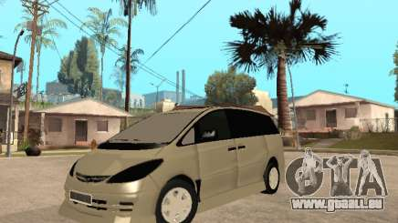 Toyota Estima Altemiss 2wd pour GTA San Andreas