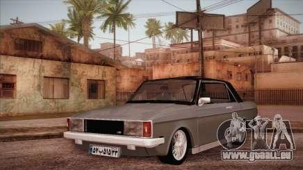 Peykan 80 Blackroof für GTA San Andreas
