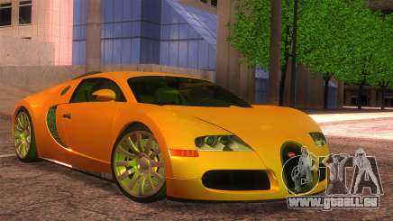 Bugatti Veyron 2009 für GTA San Andreas