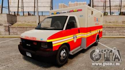 Brute Speedo FDLC Ambulance [ELS] pour GTA 4