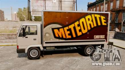 Maultier mit einer neuen Werbung für GTA 4