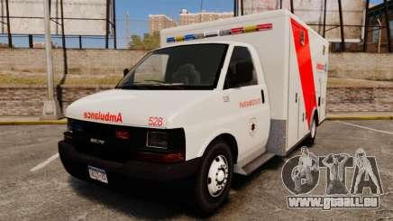 Brute Speedo RLMS Ambulance [ELS] pour GTA 4