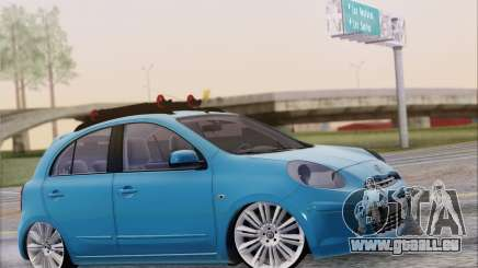 Nissan March für GTA San Andreas