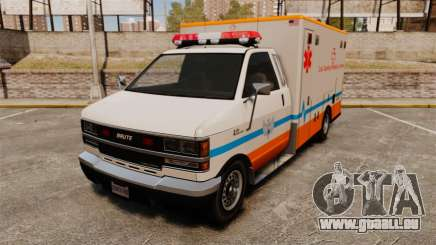 Brute LSMC Paramedic pour GTA 4