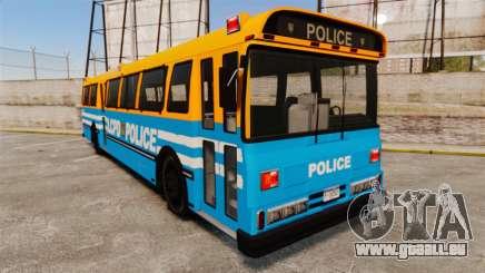 Brute Bus LCPD [ELS] v2.0 pour GTA 4
